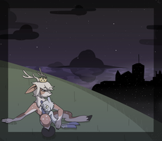 A Space Girl for a Deer Prince by bird-kings