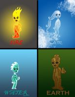 Elementals by evolra