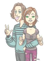 Jesse and Petunia by momentaifey