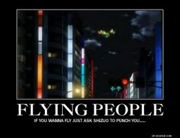 Flying people by ThisOneNarutoFreak