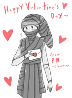 + PM-chan's Valentine~ + by SerketStalker