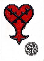 Heartless Tattoo Design: Reworked by Punch-line-designs