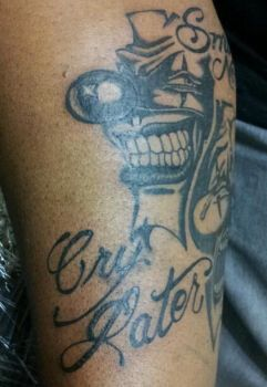 Smile Now Because My Tattoo is Bad Ass pt.1 by patchwork-steve