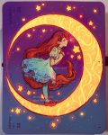 I Love you to the Moon and back by Qinni