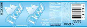 Flow Water Label by b-a88