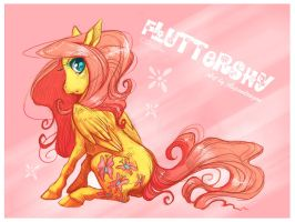 Tattoos: Fluttershy by Aspendragon