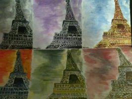 Perspectives on Eiffel Tower by Soltix