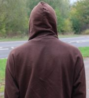 Back of head 04 - Hood Up by fuguestock