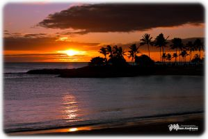 Oahu Sunset by Milton-Andrews