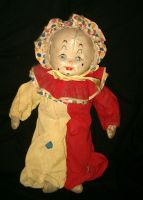 Antique Clown Doll 1 by Falln-Stock