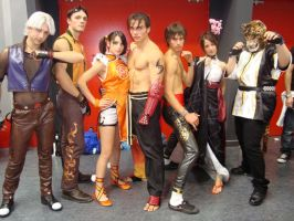 Tekken Cosplay by limone86