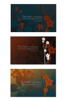 Business Cards once more by chakrabird