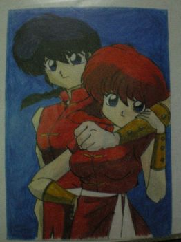 Ranma 1/2 by whocares1814