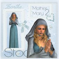 Mother mary stock pack 2 by Ecathe
