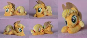 Applejack beanie plush by nemuri-soulver