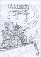 railroads time by AceNos