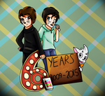 6 Years Of Phan by Fire-Blast-Scotland