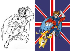 Captain English by Chris-Yop-Lannes