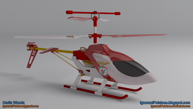 RC Helicopter - SLB by IgnorantPotatoes