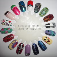 A Little Bit of Everything - Nail Wheel by CaitlinDickson