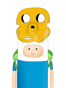 Finn And Jake by dianitapnf