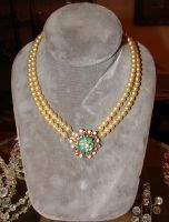 Old Victorian Pearl Necklace by FantasyStock