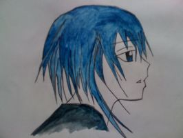 A drawing from the past: Ikuto by NinjaSoulMasamune