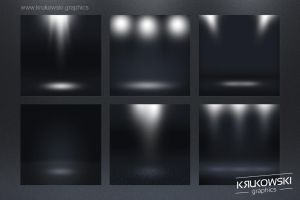 Free Dark Spotlight Background by mkrukowski