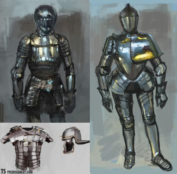 Armor Renderings by TylerScarlet