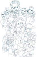 Zombie Tactical Squad by immilesaway