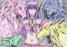 Renee the Queen Of Wolves by Kintaroo