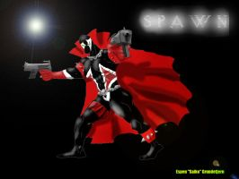 Spawn, first photoshop ever by EspenG