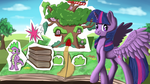 Twilight Sparkle Pop-Up Book by Ailynd