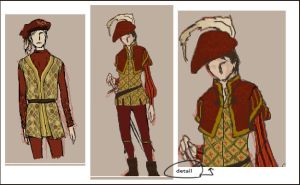 iScribble - Page Outfit Design by Maseiya