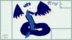 ::Ref Sheet:: King by RavenSerpent