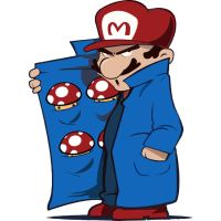 Mario Shroom Dealer by Design-By-Humans