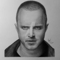 Aaron Paul by FromPencil2Paper
