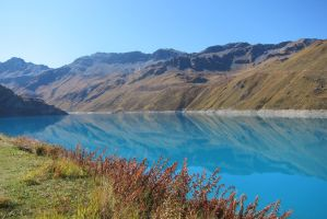 Moiry Dam Pure water by elodie50a
