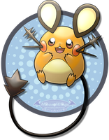 - Pokemon Dedenne - by MoonyWings