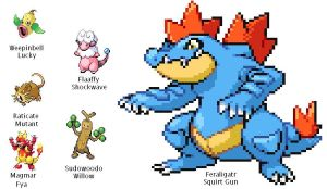 Pokemon SoulSilver Team 5.23.2012 by SpiderMatt512