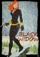 Black Widow a.k.a Natasha Romanoff by GTR26