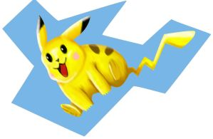 Pikachu -speed painting by IDROIDMONKEY