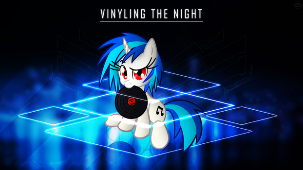 [MLP] Vinyling The Night (Official) by BrainlessPoop