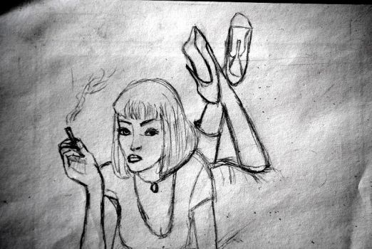 Mrs Mia Wallace by Captain-T
