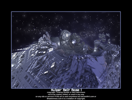 Kuiper Belt Base 1 by fraterchaos