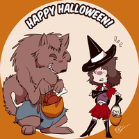 Happy Halloween 2011 by Dezfezable
