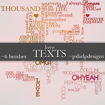 love TEXTS by pshelpdesigns