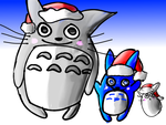 SS: A Totoro Christmas! {foxrose819} by alerion19