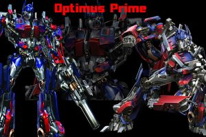 2007 Optimus Prime Wallpaper by Ryssa-Aquicoine