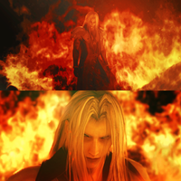 Sephiroth - On Fire by damage-ctrl